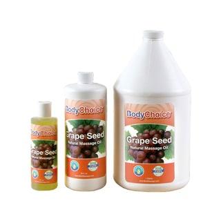 BodyChoice Grape Seed Massage Oil