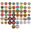 Coffee, Tea, and Hot Chocolate 50 Count Variety Sampler Pack for Keurig K-Cup Brewers