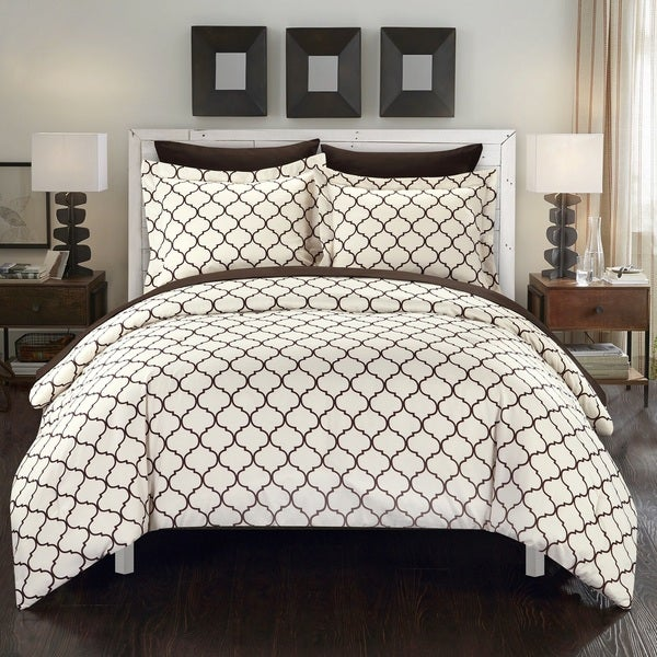 Chic Home Maitland BIB Brown Comforter 7-Piece Set
