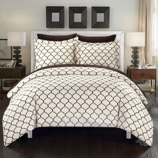 Chic Home Maitland BIB Brown Comforter 7-Piece Set