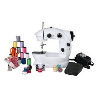 Sunbeam SB-08K Mini Sewing Machine with 76-piece Sewing Kit