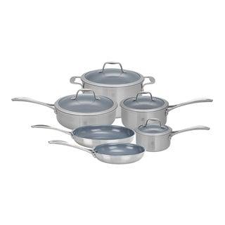 Zwilling J.A. Henckels Spirit 10-Piece Aluminum/Stainless Steel Cookware Set