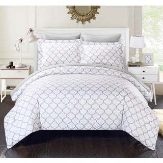Chic Home Maitland BIB Grey Comforter 7-Piece Set