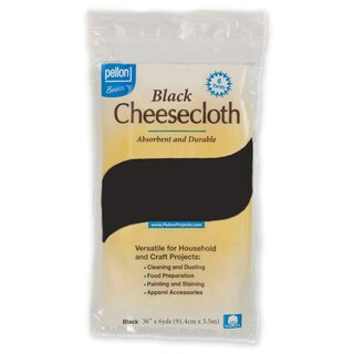 Pellon Black 36-inch x 6-yard Cheesecloth Package