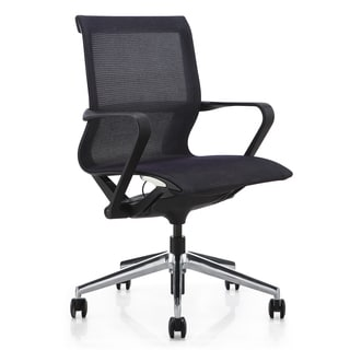 M1 Black Mesh Mid-back Executive Office Chair