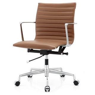 M5 Brown Aniline Leather Office Chair