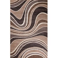 Concord Global Matrix Lucie Brown Area Rug - 6'7 x 9'6