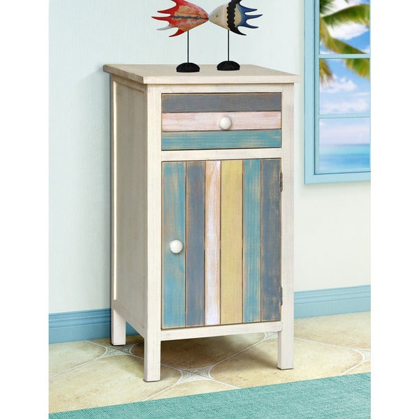 Gallerie Decor Seaside Multicolored Wood Cabinet. Opens flyout.