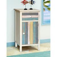 Gallerie Decor Seaside Multicolored Wood Cabinet