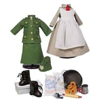 """The Queen's Treasures Salvation Army Complete Doll Clothing Outfits, Accessory Set & Shoes, Fits 18"""" Dolls"""
