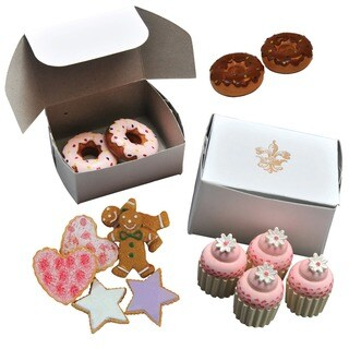 The Queen's Treasures American Bakery Collection Bake Set of Doughnuts, Cookies, and Mini Cupcakes for 18-inch Girl Dolls