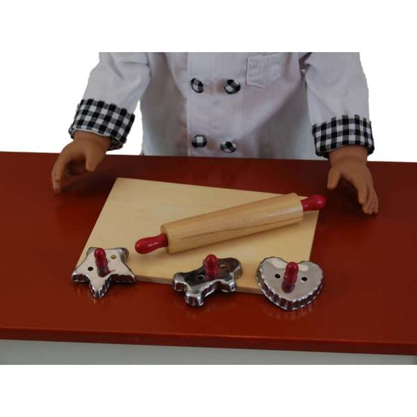 The Queen's Treasures 5 pc Baking Tool Set & Fits 18 Inch Doll Accessories and Food