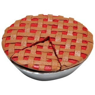 """The Queen's Treasures American Bakery Collection Cherry Pie With Cut-out Slice Fits 18"""" Girl Doll Accessories & Food"""