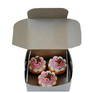 "The Queen's Treasures American Bakery Collection 3pc Cupcakes Fits 18"" Girl Doll Accessories & Food"