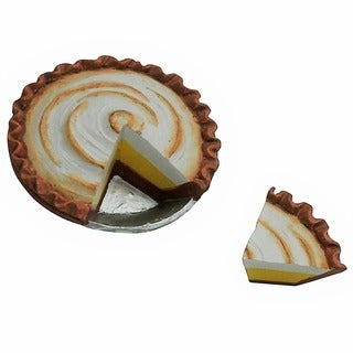 "The Queen's Treasures American Bakery Collection Lemon Meringue Pie Fits 18"" Girl Doll Accessories & Food"