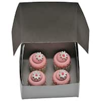 """The Queen's Treasures American Bakery Collection -Set of 4 Mini Cupcakes Fits 18"""" Girl Doll Accessories & Food"""