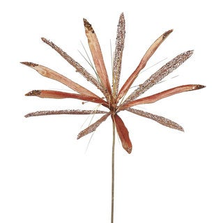 Vickerman 24-inch Copper Papyrus with 20-inch Flower (Pack of 3)