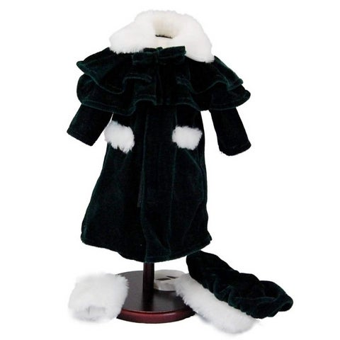 "The Queen's Treasures 1914 Style Winter Coat Doll Clothing Outfit, Clothes & Accessories for 18"" Gir"