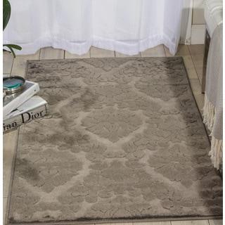 Nourison Ultima Silver/Grey Area Rug (2'2 x 3'9)