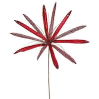 24-inch Red Papyruses With 20-inch Flowers (Pack of 3)