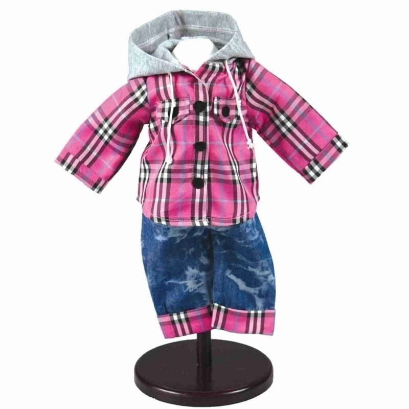 """The Queen's Treasures Farm Girl Outfit for 18"""" Dolls (Multi)"""