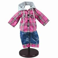 "The Queen's Treasures Farm Girl Outfit for 18"" Dolls"