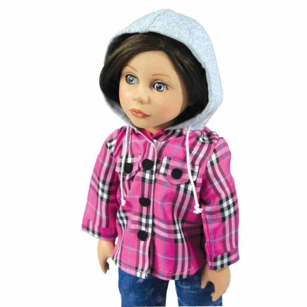 """The Queen's Treasures Farm Girl Outfit for 18"""" Dolls"""
