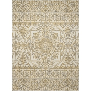 "Contempra Collection Sukha Polypropylene Rug (5'3"" x 7'3"")"