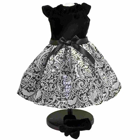 "The Queen's Treasures Little Black Dress Doll Clothing Outfit, Clothes & Accessories for 18"" Girl Dolls"