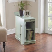 Powell Pickford Aqua Accent Table