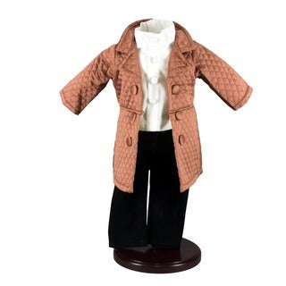 "The Queen's Treasures Madison Avenue Jacket, Shirt and Pants Doll Clothing Outfit, Clothes & Accessories for 18"" Girl Dolls"