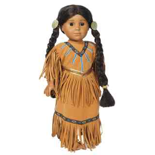 The Queen's Treasures Native American Doll Clothing Outfit, Clothes, and Accessories for 18-inch Girl Dolls