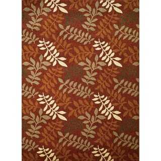 "Chelsea Collection Fern Polypropylene Rug (2'7X4'1) - 2'7"" x 4'1"""