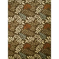 Concord Global Chester Fern Area Rug - 6'7 x 9'3