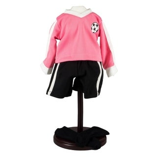 The Queen's Treasures Soccer Shorts, Jersey, and Socks Doll Clothing Outfit
