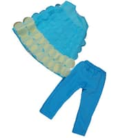 "The Queen's Treasures Turquoise Legging Doll Clothing Outfit, Clothes & Accessories for 18"" Girl Dolls"