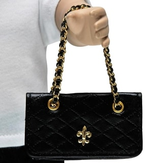 The Queen's Treasures Handbag - Quilted Shoulder bag