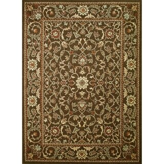 Chelsea Collection Verdure Polypropylene Rug (5'3 x 7'7)
