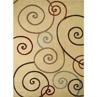 Concord Global Chester Tendrils Area Rug - 3'3 x 4'7