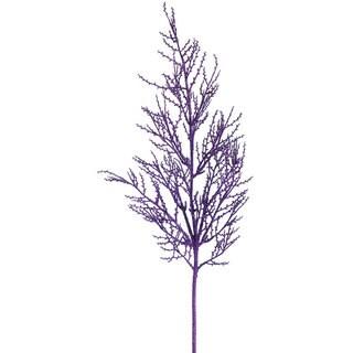 Vickerman 28-inch Purple Glitter Wild Huck Spray (Pack of 6)
