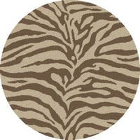 """Concord Global Shaggy Exotic Area Rug - 6'7""""x 6'7"""""""