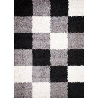 Mod Collection Shades Polypropylene Rug ( 6'7 x9'3 )