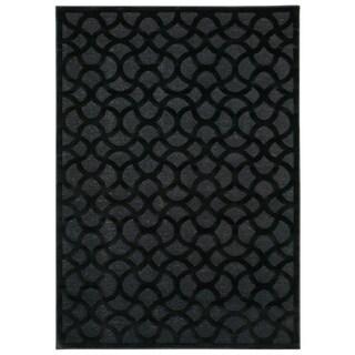 Nourison Ultima Black Area Rug - 2'2 x 3'9