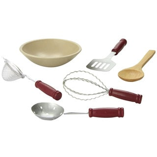 "The Queen's Treasures 6 pc Kitchen Tool Accessory Set Fits 18"" Doll Furniture & Accessories"