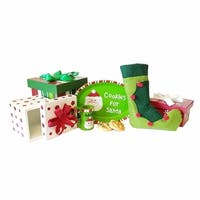 """The Queen's Treasures 8 Pc Night Before Christmas Accessory Play Set, Fits 18"""" Dolls"""