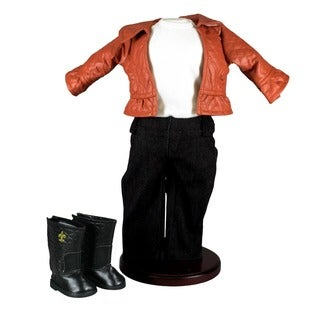 "The Queen's Treasures Rodeo Drive Shopping Doll Clothing Outfit & Shoes, fits 18"" Dolls & American Girl"