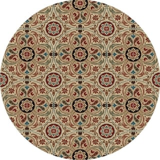 Valencia Collection Siera Polypropylene Rug (5'3x5'3)