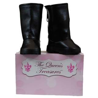 The Queen's Treasures Black Riding Boots For Use with 18-inch Dolls and Doll Clothing