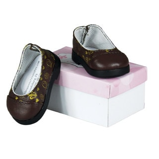 The Queen's Treasures TQT Designer Flat Slip-on Shoes for 18-inch Girl Dolls