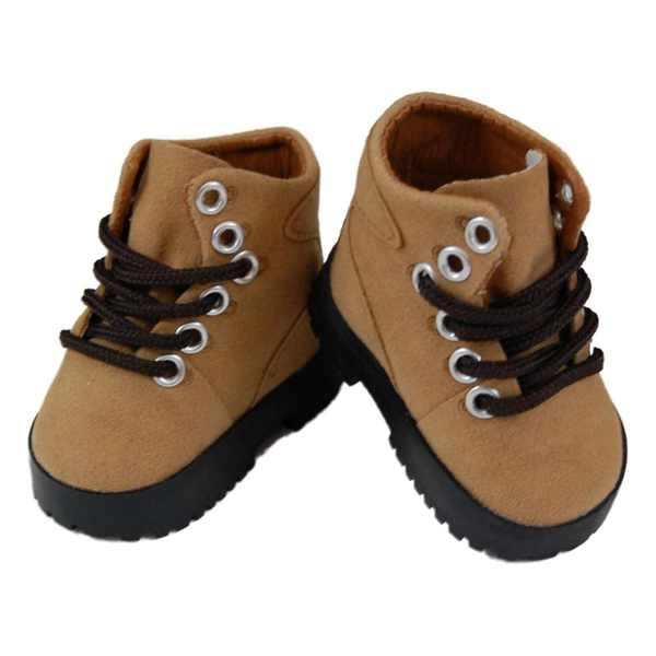 """The Queen's Treasures Hiking Boot Shoes for Use With 18"""" Dolls and Doll Clothing"""
